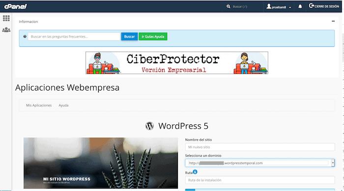 Crear un blog con WordPress: instalación de WordPress