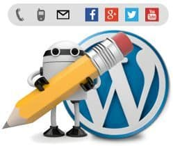 Contacto en WordPress