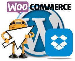 Vender infoproductos en WooCommerce desde DropBox