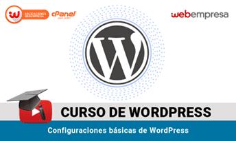 curso wordpress administración