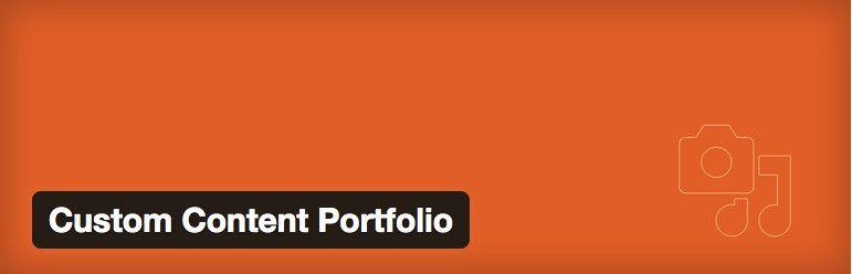 Plugin Custom Content Portfolio
