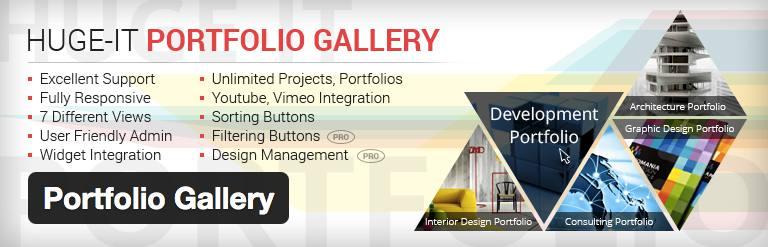 Plugin Portfolio Gallery
