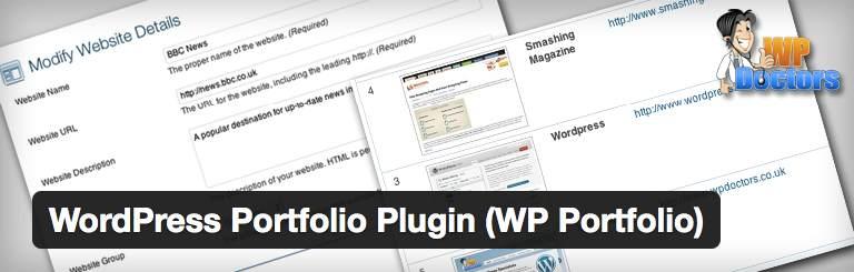 Plugin WP Portfolio