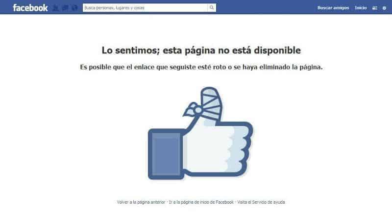 Experiencia de Usuario Facebook