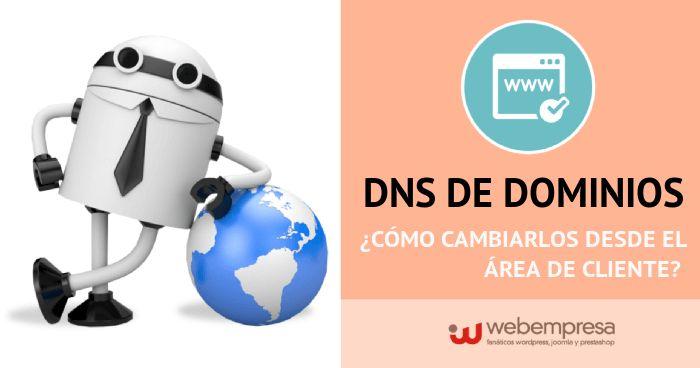 DNS de dominios