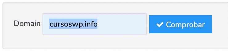 autenticación email validación