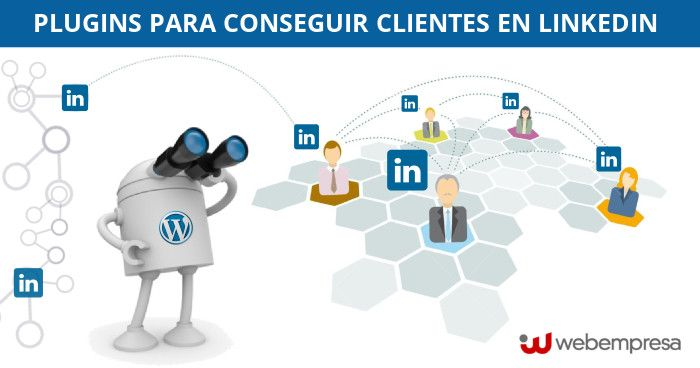 plugins de WordPress para LinkedIn