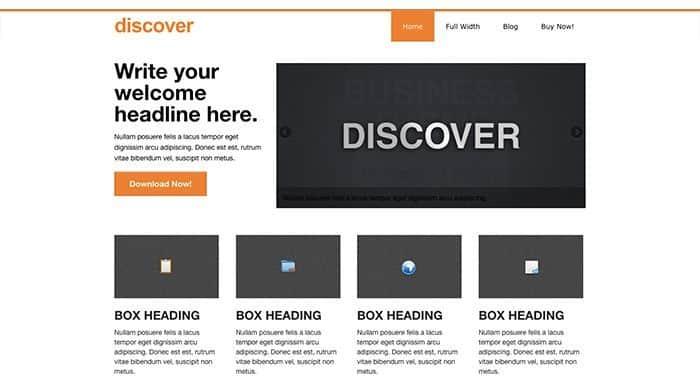 theme discover