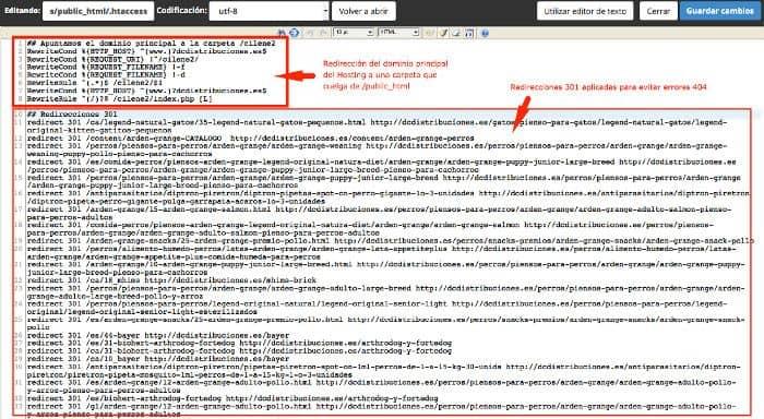 .htaccess de public_html