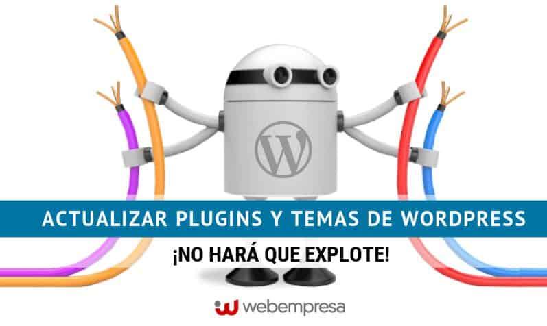 Actualizar plugins y temas de WordPress