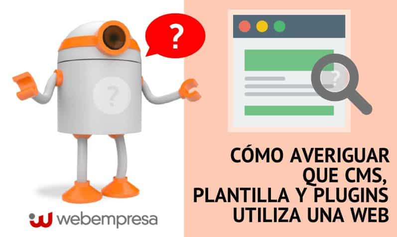 como averiguar si una web es WordPress