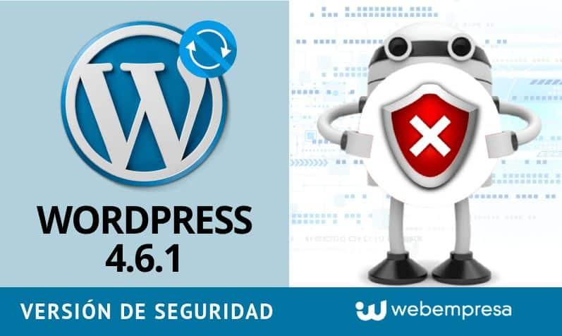 Actualiza a WordPress 4.6.1