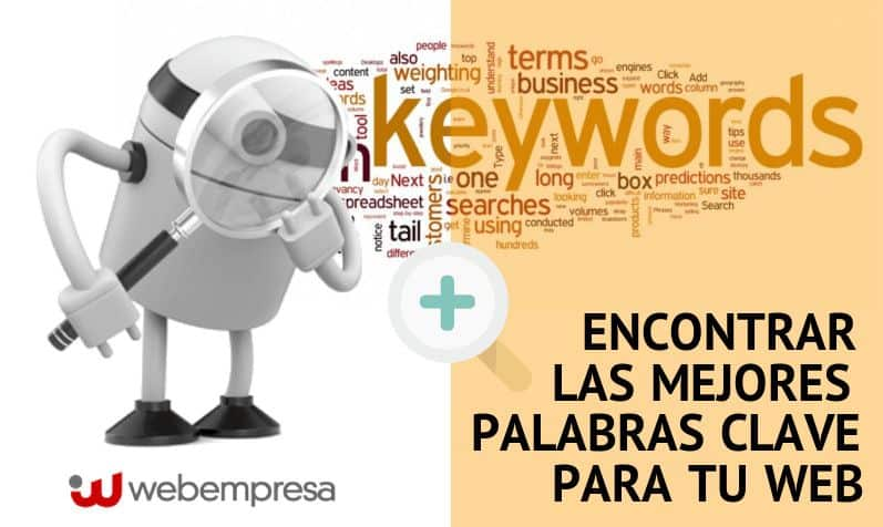 mejores palabras clave para tu Web