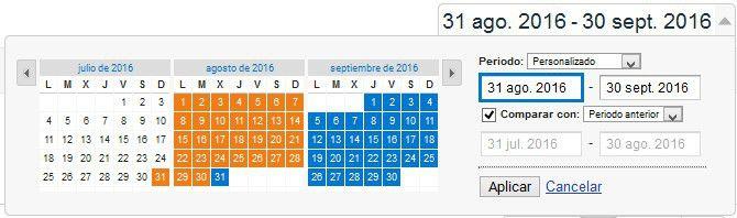 Comparar fechas