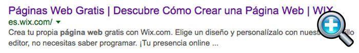 Wix en Google