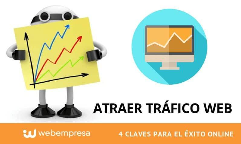 Atraer tráfico Web