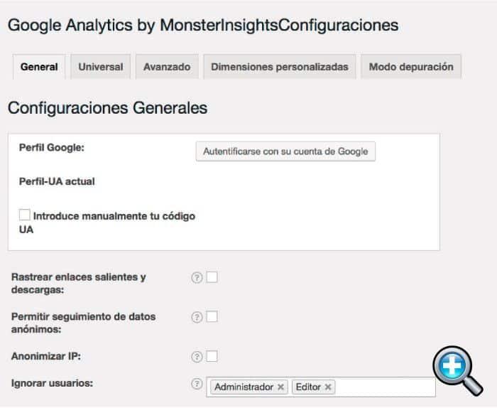 Autenticar Google Analytics