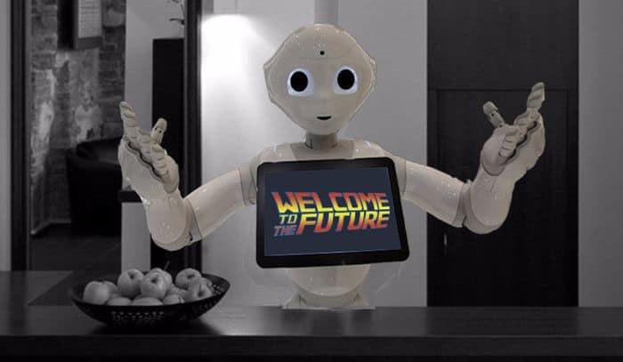 Yo soy Robot; ¿en qué puedo ayudarle?