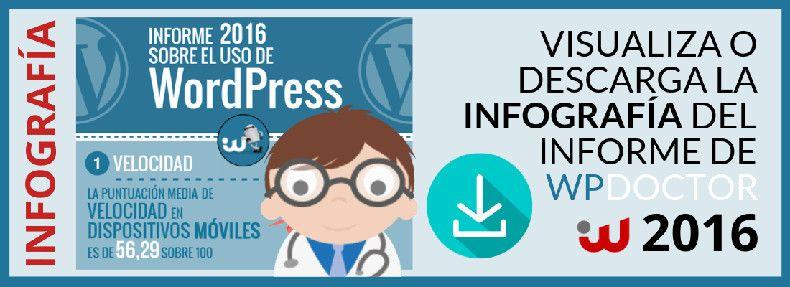 Informe sobre el uso de WordPress · WPDOCTOR 2016