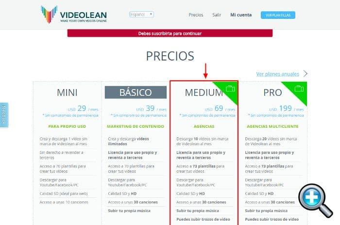 Plan Medium