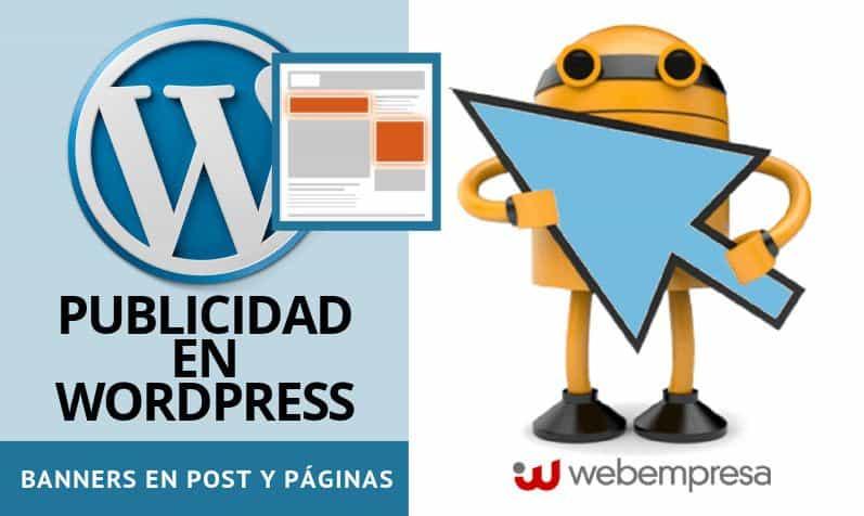 Publicidad en WordPress