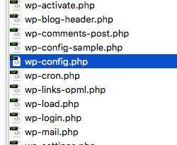Dirección de WordPress