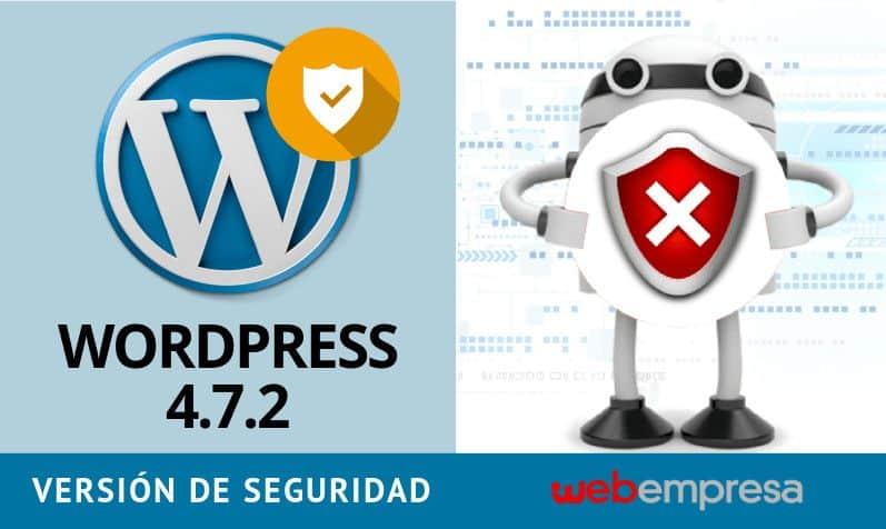 Liberado WordPress 4.7.2