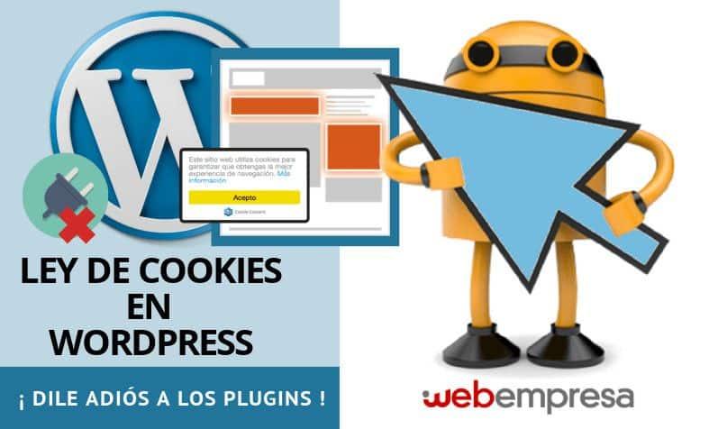Ley de Cookies en WordPress