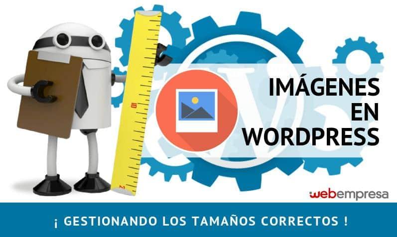 Tamaños de imágenes en WordPress