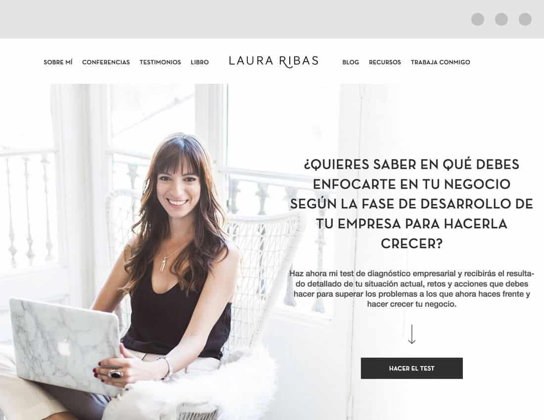 Laura Ribas web