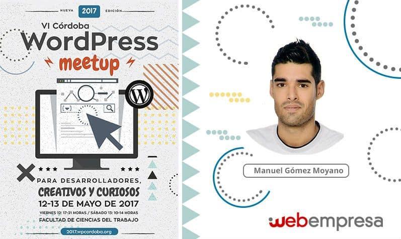 Webempresa en la WordPress MeetUp Córdoba 2017