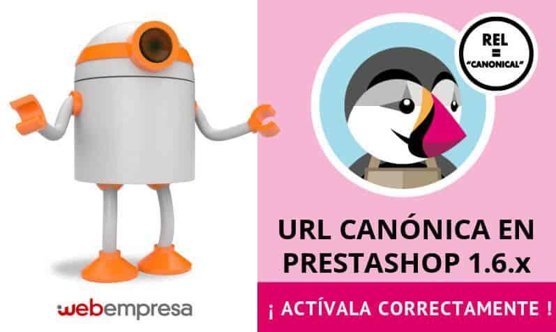 URL canónica en PrestaShop