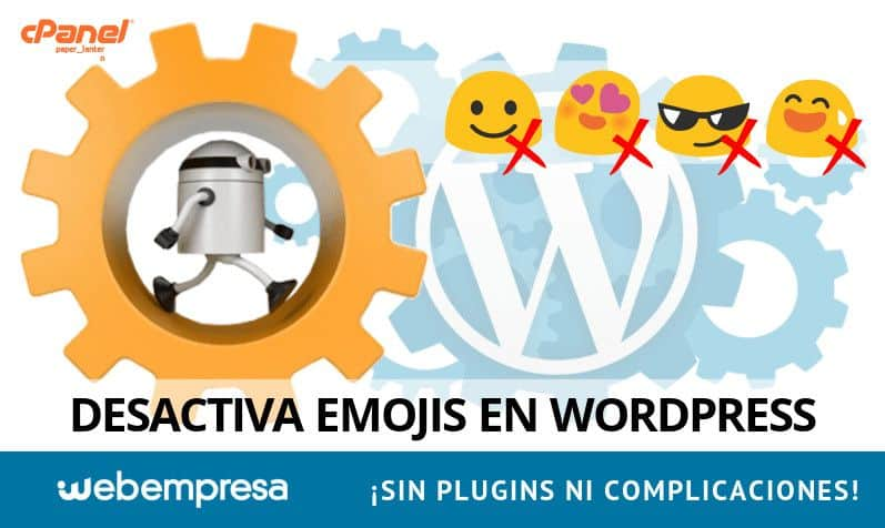 Desactivar Emojis en WordPress