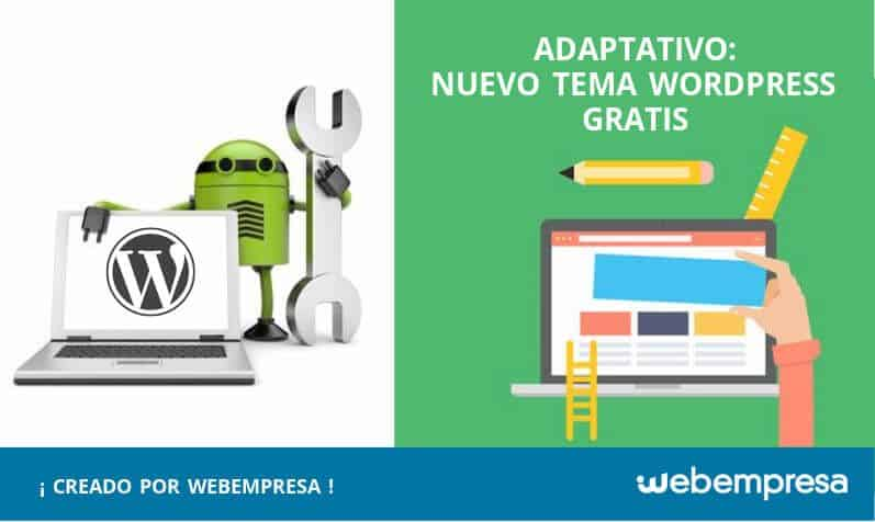 Adaptativo Tema WordPress Gratis Webempresa