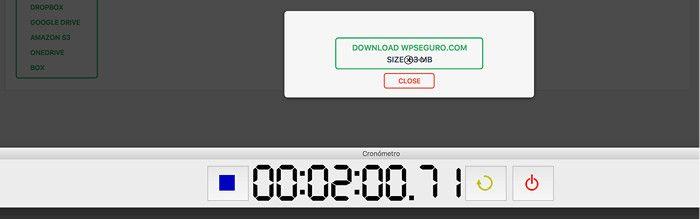 Backups en 2 minutos