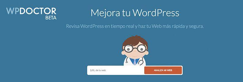 WP Doctor auditoría gratuita para tu WordPress