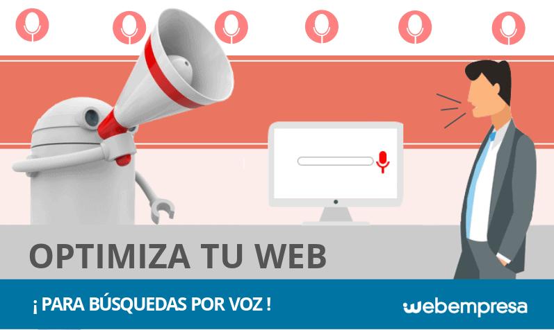 Cómo optimizar tu sitio web para búsquedas por voz