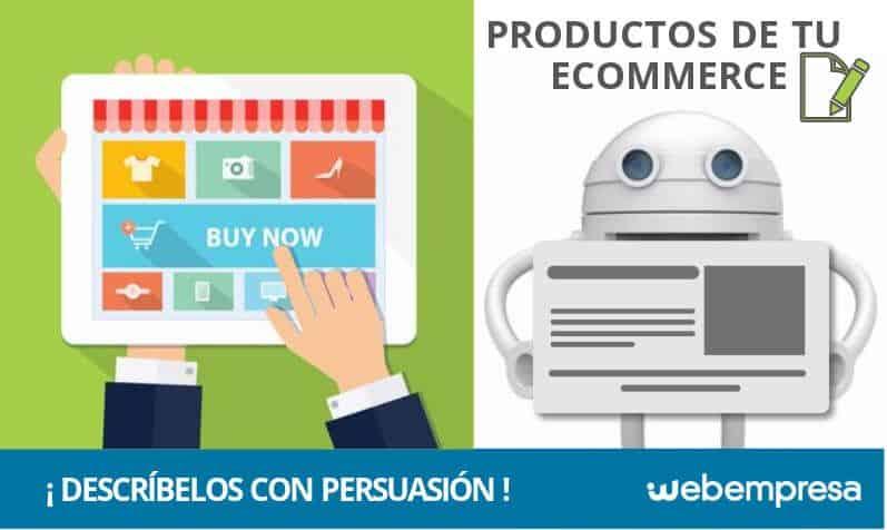 ¿Cómo describir los productos de tu eCommerce con persuasión?