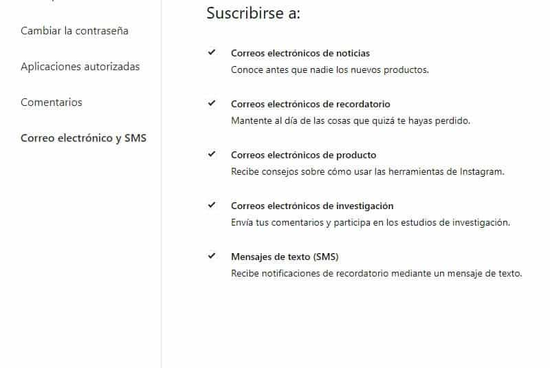 Editar Perfil PC notificaciones
