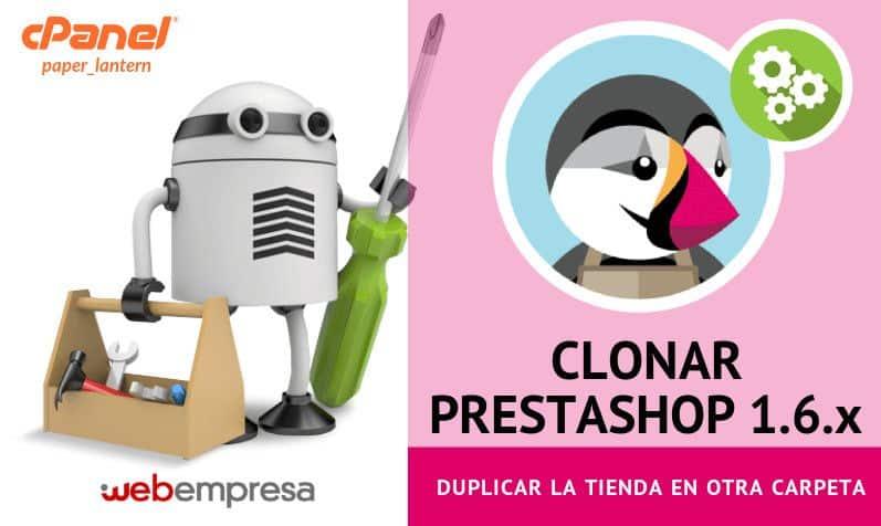 clonar PrestaShop