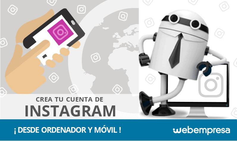 Cómo crear una cuenta en Instagram desde ordenador y móvil