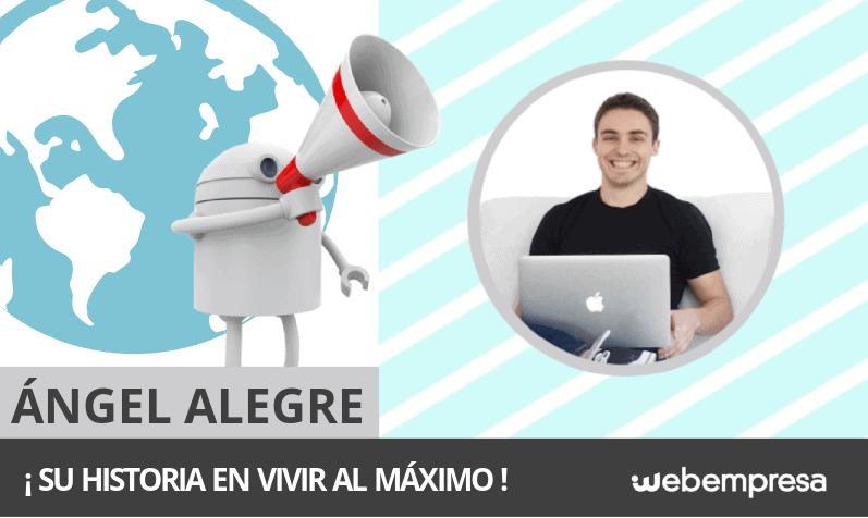 La historia de Ángel Alegre con Vivir Al Máximo