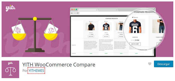 Comparador productos Woocommerce