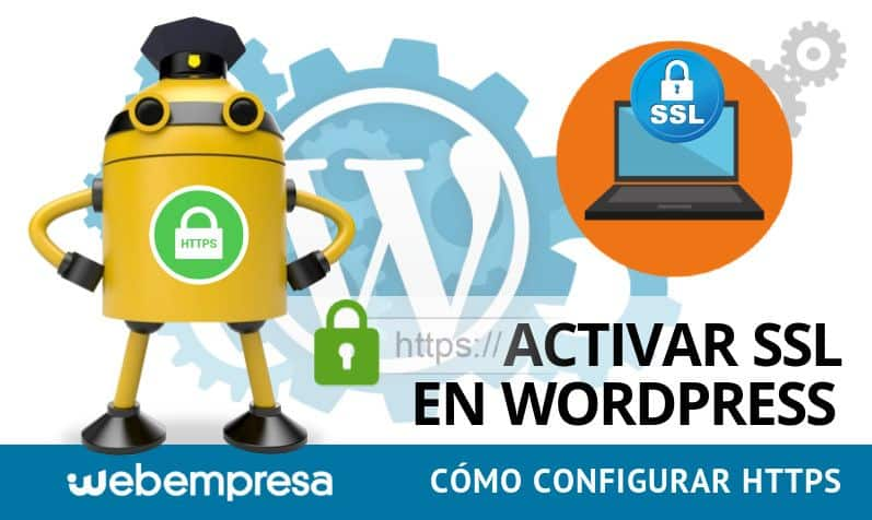 Activar SSL (https) en WordPress
