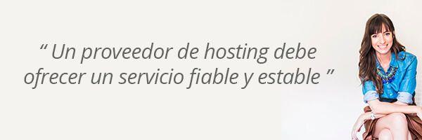 Opinión de Laura Ribas sobre un buen servicio de hosting