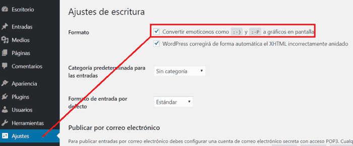 Incluir iconos en WordPress