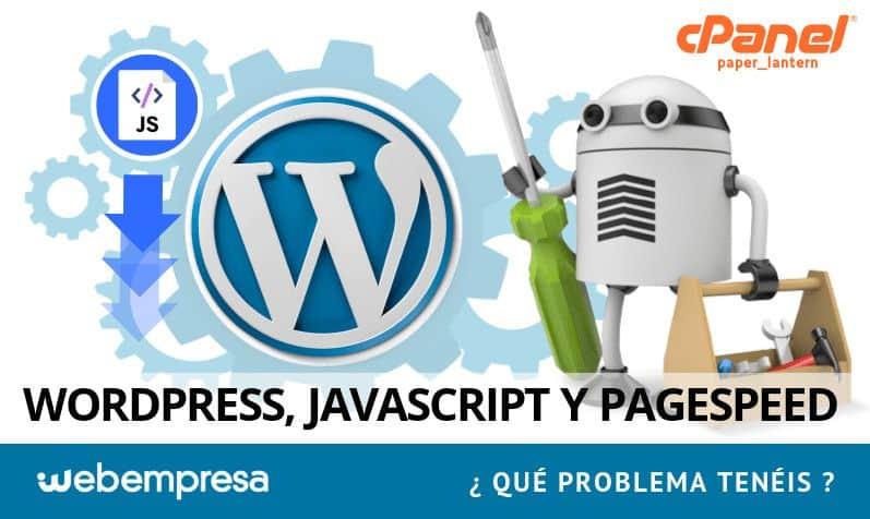Quitar el Javascript que bloquea la visualización del contenido en WordPress