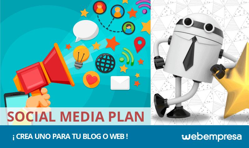 ¿Cómo crear un Social Media Plan para un blog o web corporativa?
