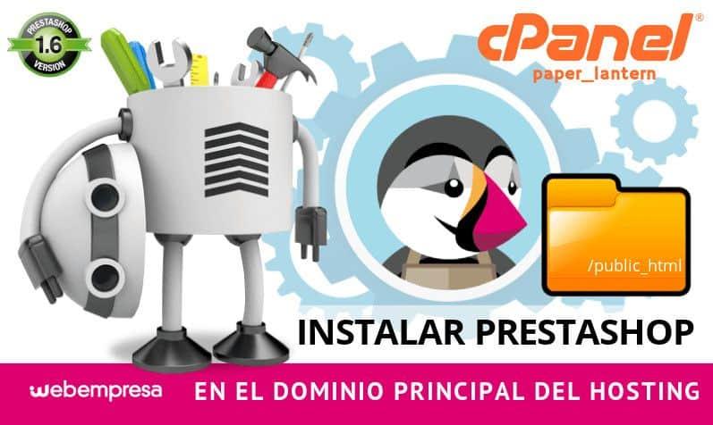 Instalar PrestaShop