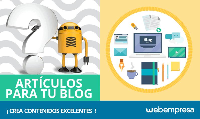 Cómo escribir un artículo excelente para tu Blog